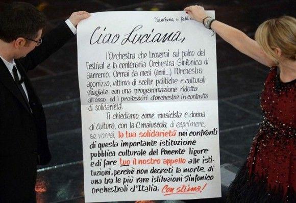Al Festival di #Sanremo 2013 la musica (e la gente) si riscatta verso i #giornalisti