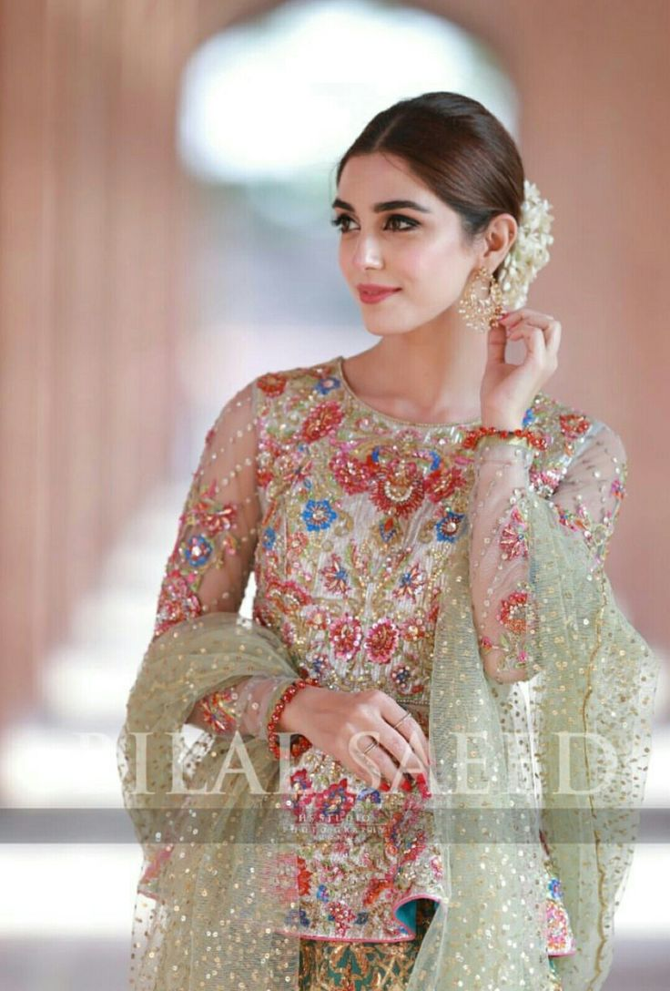 Fashion Pakistan: model Maya Ali