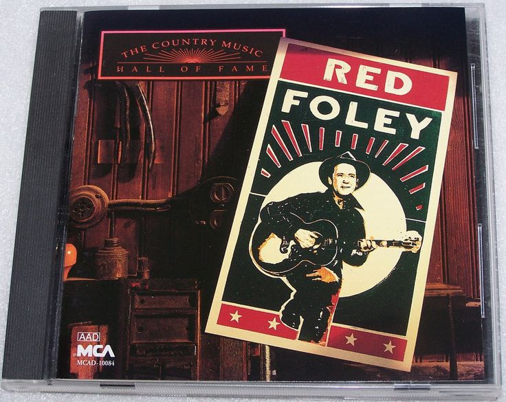 Country Music Hall Of Fame Cd By Red Foley Old Shep