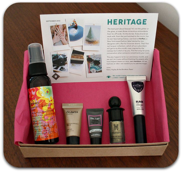 Birchbox – September 2013