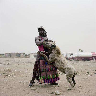 Abdullahi Mohammed with Mainasara, Ogere-Remo, Nigeria 2007. by Pieter Hugo
