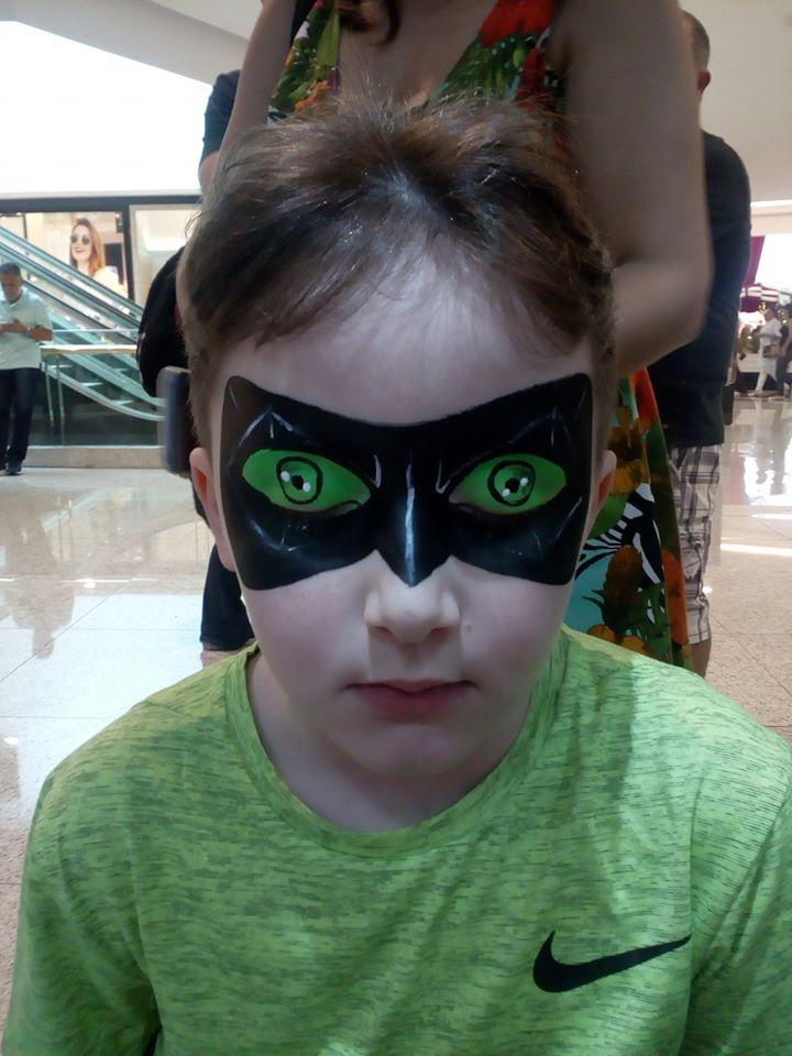 Cat Noir Maquiagem Artistica Pintura Facial Maquiagem Artistica Pinturas Faciais Infantis