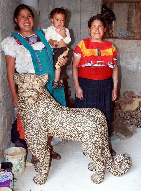 Juana Gomez artisan- from Chiapas - often at the Feria Maestros in Chapala in November