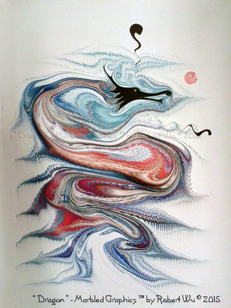 The Marbling Art of Robert Wu