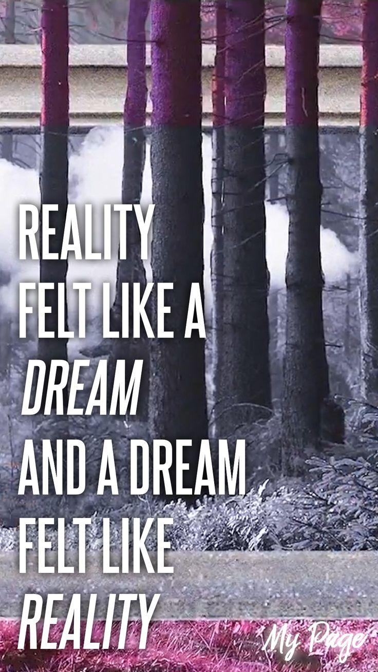 My Page / NCT Dream / hyeonsiri kkumigo kkumi hyeonsil gata / reality felt like a dream and a dream felt like reality
