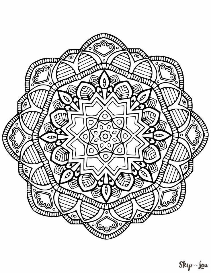 Beautiful Free Mandala Coloring Pages Mandala Coloring Pages Coloring Pages Abstract Coloring Pages