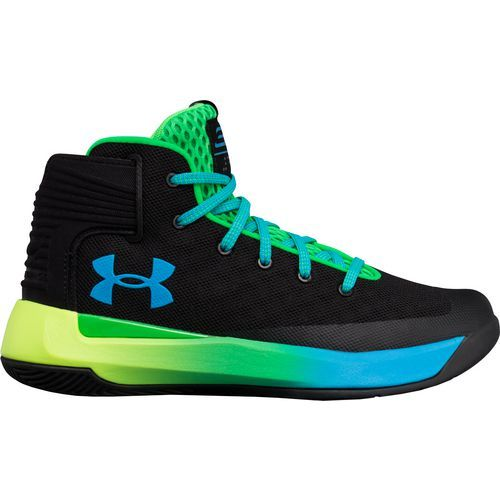 Under Armour Boys\u0027 GS Stephen Curry 3ZER0 Basketball Shoes (Black, Size 7)