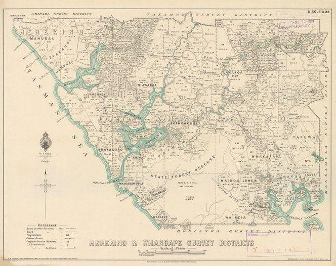 Herekino & Whangape Survey District [electronic resource].