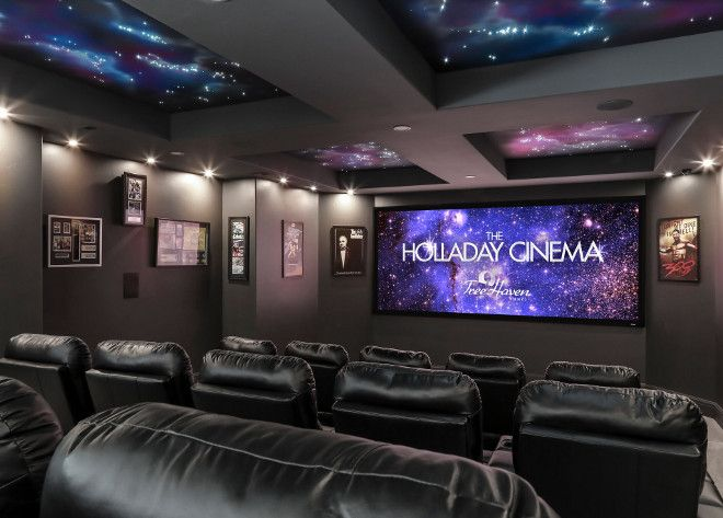 48 best media rooms images on pinterest media rooms cinema room and theatre rooms - Best paint color for home theater ...