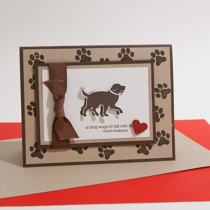 "Card ideas for ""D is for Dog"" Stampin' Up set"