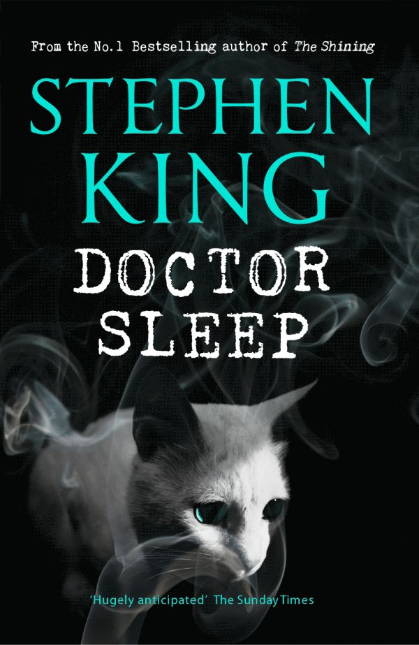 Doctor Sleep by Stephen King - animated book cover