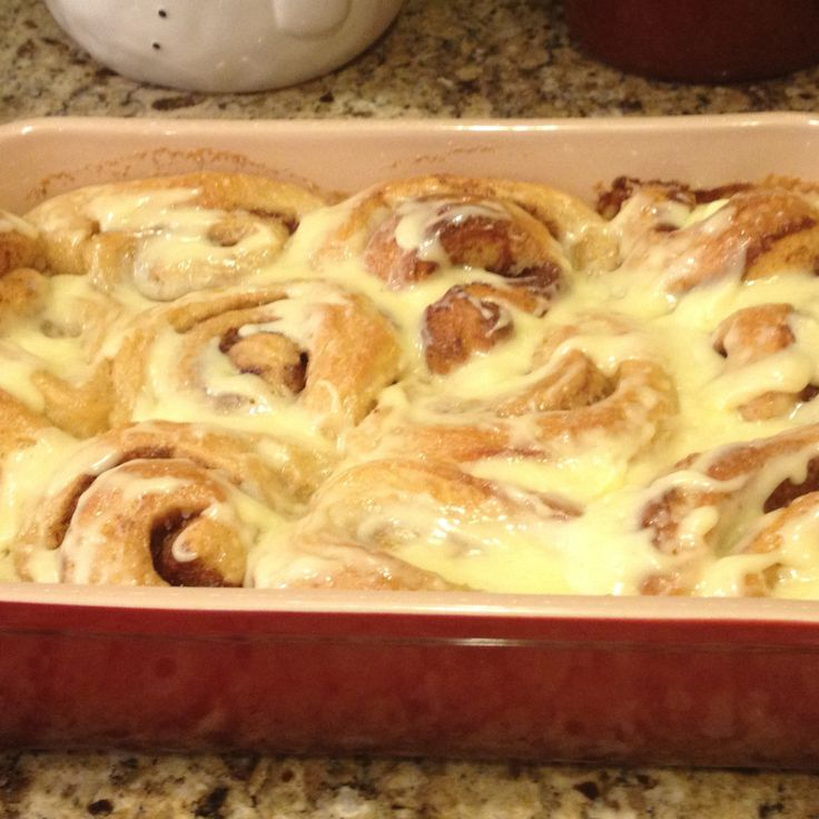 Cinnamon Rolls made with Ice Cream Recipe | Just A Pinch Recipes