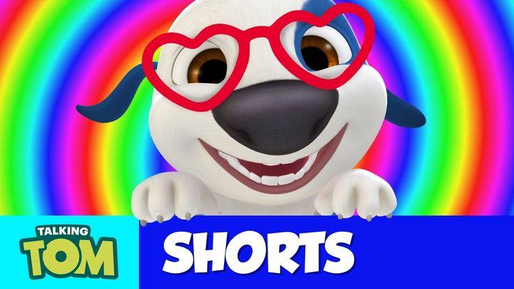 Talking Tom Shorts 27 - Hank's Glasses xo, Talking Angela #TalkingAngela #LittleKitties #MyTalkingAngela