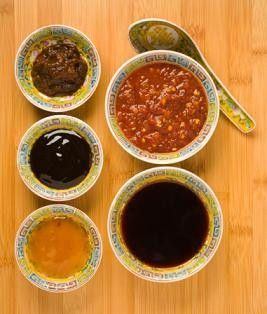 """Hoisin sauce substitutes.  I like #2 with low sodium soy sauce - it makes a """"hoisin"""" sauce that has a mere 75mg of sodium per tablespoon of sauce. (Regular hoisin sauce has 500-1000 mg per Tbsp.) #needswork"""