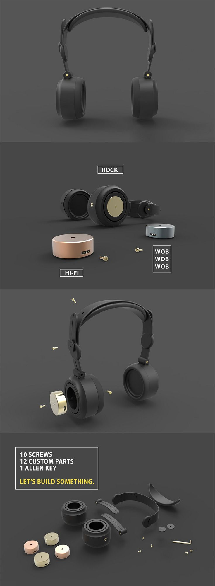 136 best earbud/headphone images on Pinterest | Product design, Ear ...