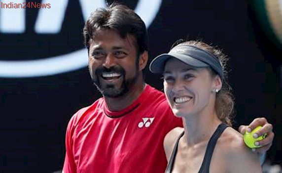 Leander Paes-Martina Hingis ease into Australian Open mixed doubles quarters