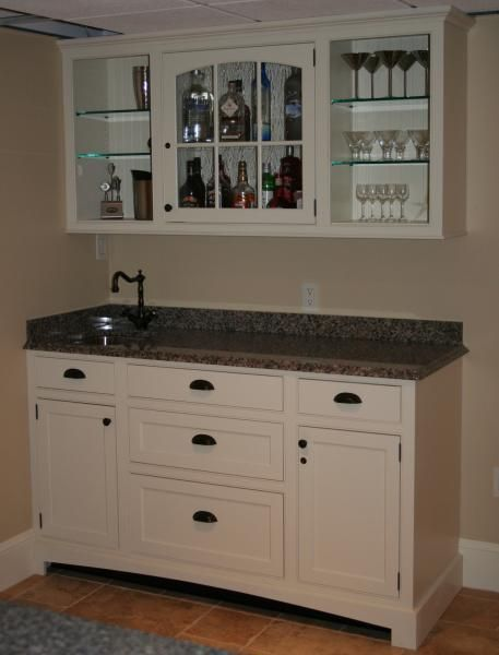 Lovely Bar Cabinet with Sink