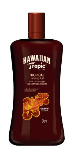 Hawaiian Tropic Tanning Oil ohne LSF, 200 ml   Your #1 Source for Beauty Products