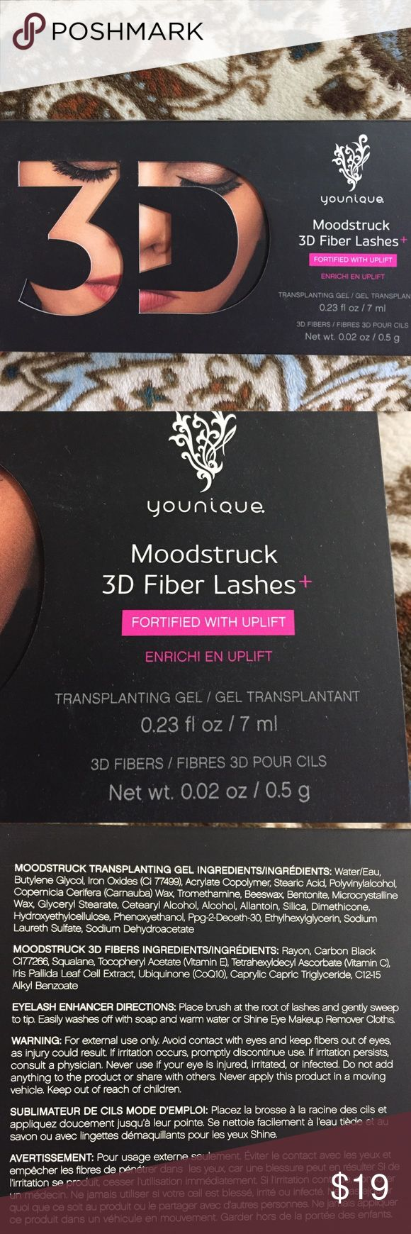Younique 3D Fiber Lashes Brand New, Never opened. Lash Enhancer. Younique Makeup Mascara