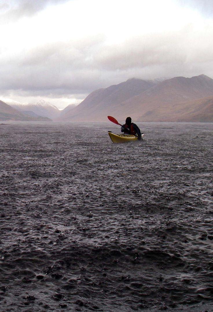 Sea kayak we do it in the rain Loch Etive Scotland.jpg 1.329×1.951 pixels