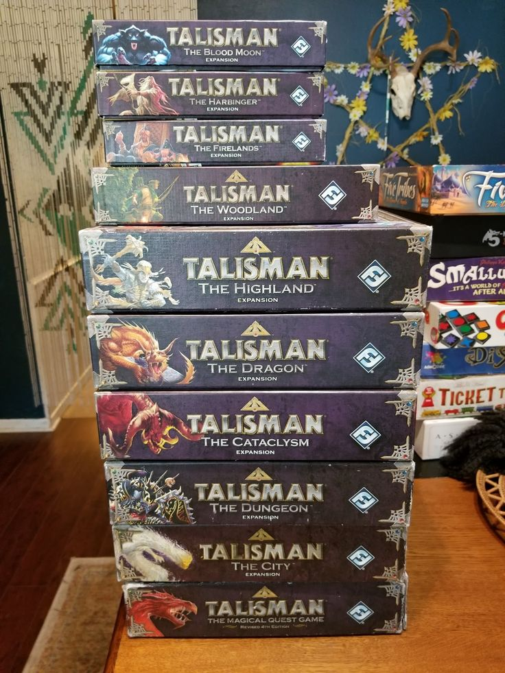 I introduced my friend to Talisman the board game a couple years ago. Today he sends me this and blames me for it