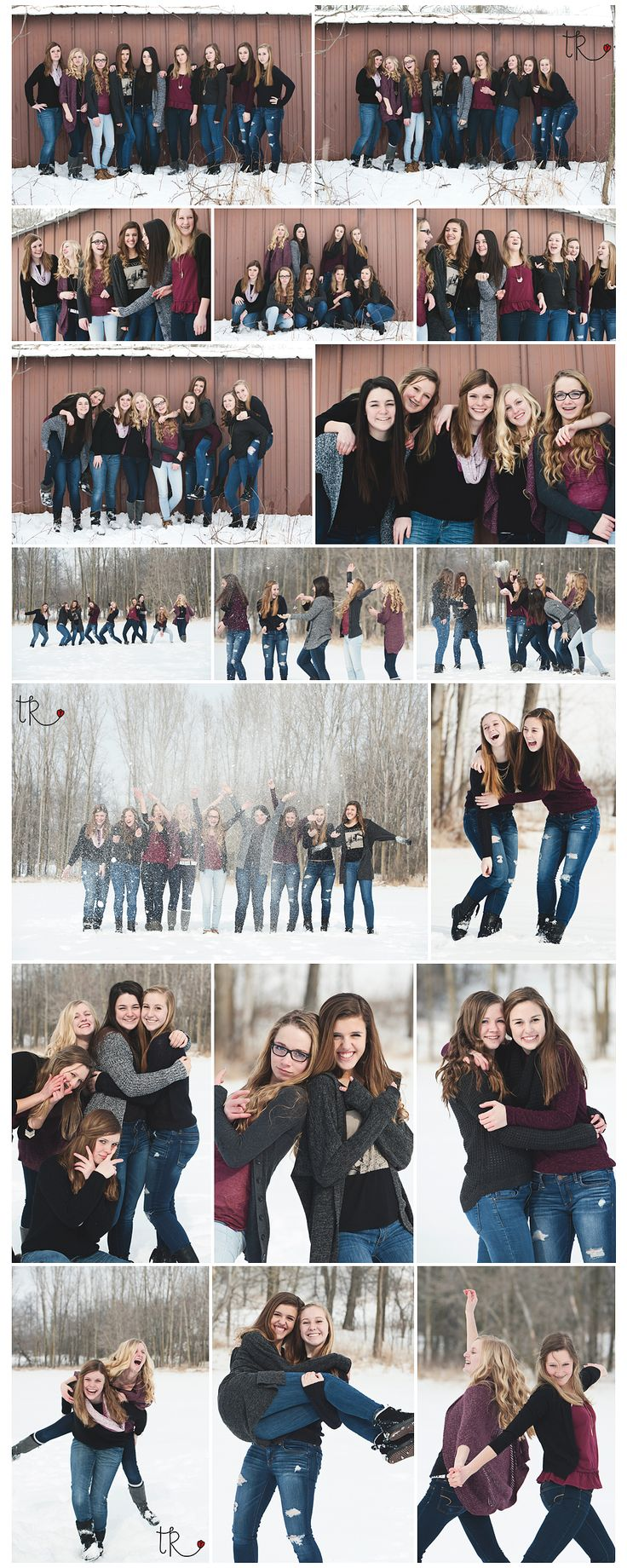 BFF Winter Photos - Theresa Rose Photography