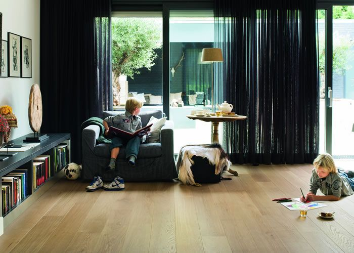 Clean lines and distinctive glamour are just some of the aspects that you can expect from the Quickstep Palazzo Pure Oak Matt PAL1341 Engineered Wood Flooring. It is straight from the fashion houses of Europe after all. Paired with a subtle V-joint along the plank's longest edge that creates a sense of depth and perspective, this floor is smart sleek and beautiful in any room.