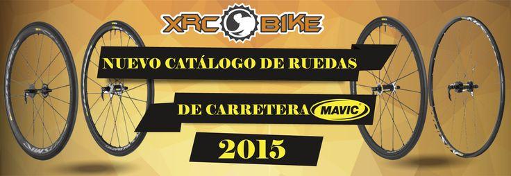 Échale un vistazo al nuevo catálogo de MAVIC y descubre las principales novedades de RUEDAS DE CARRETERA MAVIC 2015.