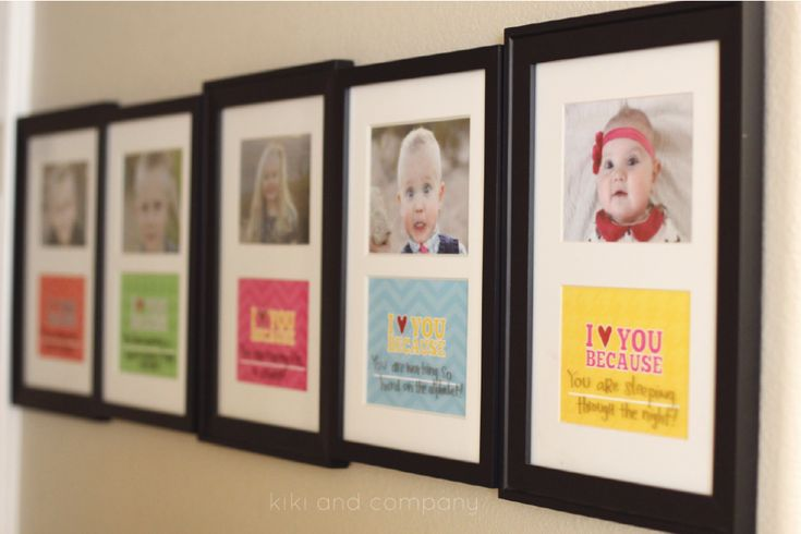 """I Love You Because""- one for each kid.  Love these sweet, colorful love notes!"