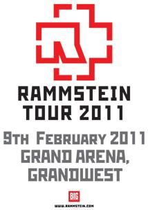 Rammstein 2011 SA