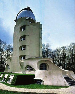 Erich Mendelsohn, Einstein Tower, Potsdam, Expressionist Architecture
