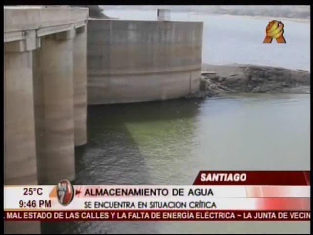 Situacion Crítica De Almacenamiento De Agua De Santiago Y Moca #Video