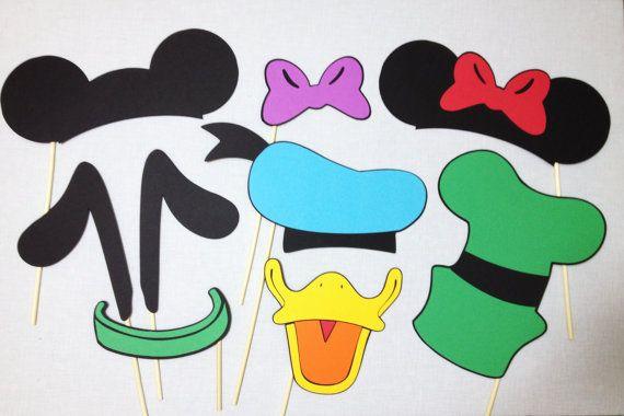 9 Mickey y amigos Photo Booth apoyos Disney Photo por CleverMarten