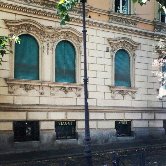 #architecture #Rome #bluewindows #viaggi