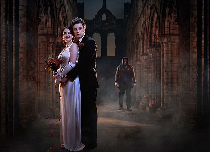 Frankenstein S Wedding Lacey Turner As Elizabeth Lavenza Andrew Gower As Victor Frankenstein And David Harewo Victor Frankenstein Frankenstein David Harewood