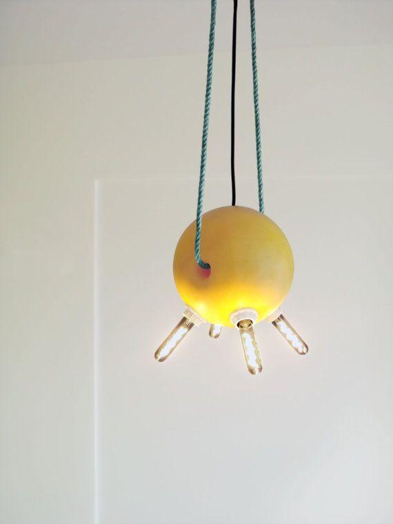 Buoy #Hanging #Lamp #Reclaimed #Lighting By Railis #Etsy #design #