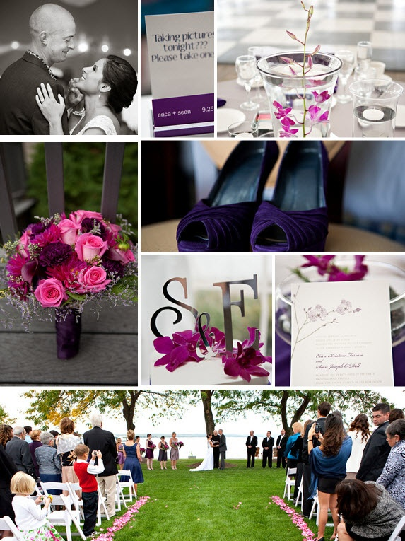 Megan Dailor Photography Via Two Bright Lights | Venue: Inn on the Lake in Canandaigua, New York | Floral Designer:  Fioravanti Florist | Cake Designer:  Holy Cannoli
