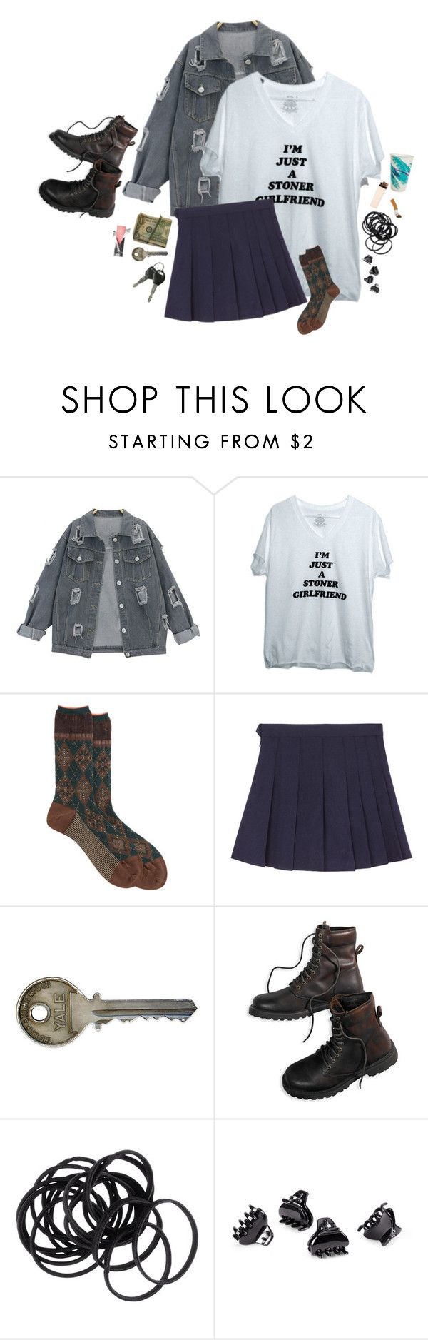 """See You Space Cowboy."" by kimnojams ❤ liked on Polyvore featuring Antipast, American Eagle Outfitters and H&M"