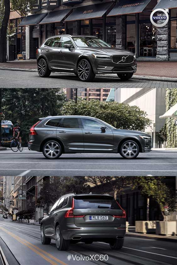 The sporty Volvo XC60 | Named 2018 North American Utility Vehicle of the Year | Don't compromise safety for luxury — the XC60 is plenty of both.