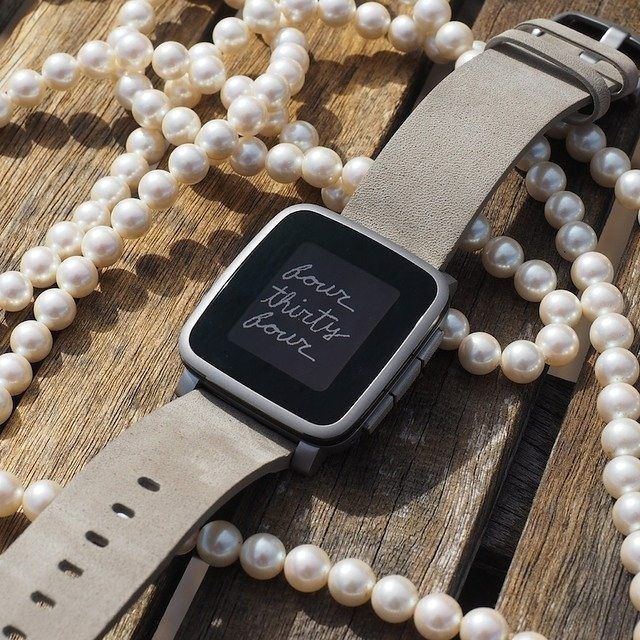 The Pebble Time Steel is beautiful, but probably not worth $249. See @nicolenerd's review in the link on our bio.