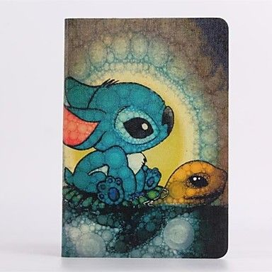 cartoon schildpad patroon pu lederen full body case voor de iPad mini 1/2 – EUR € 16.07
