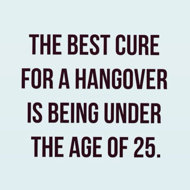 The best cure for a hangover. #funny #haha #truth