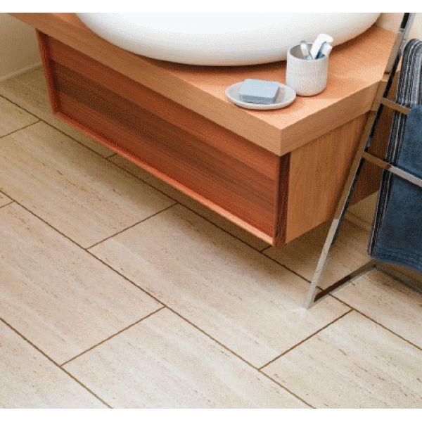 PVC / Vinyl tegels ook geschikt voor in de badkamer!