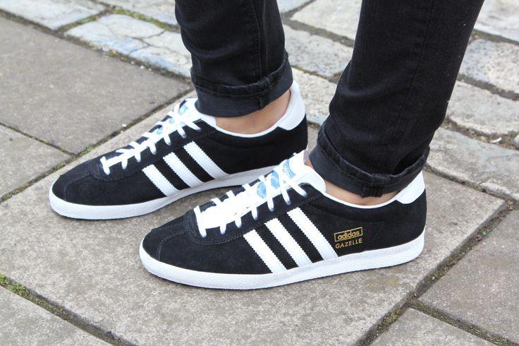 Adidas Originals Unisex schwarz Gazelle OG Sneaker