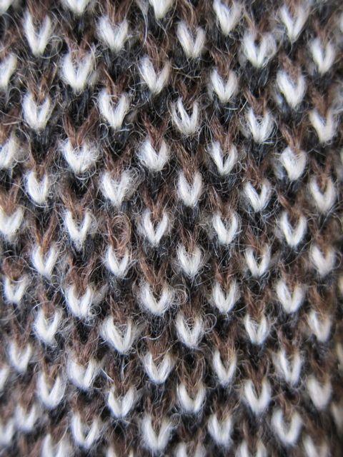 Beautiful stitch pattern! Is this slip stitch?