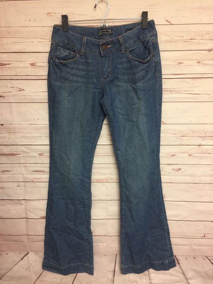 Seven 7 Jeans Sexy Flare Size 28 Women's Denim Jeans B24 | eBay