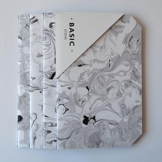 STONE notebook 20cm x 13 cm