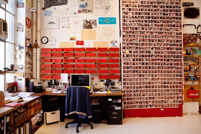 Part of Casey Neistat's studio, his videos are incredibly original and inspiring!