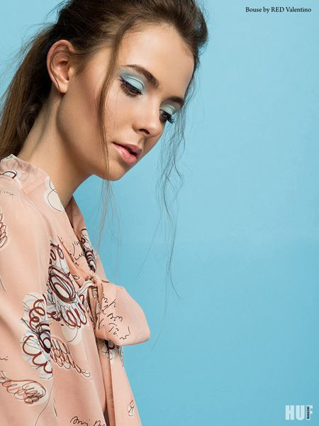 sugar and spice fashion editorial. pantone colors, red valentino