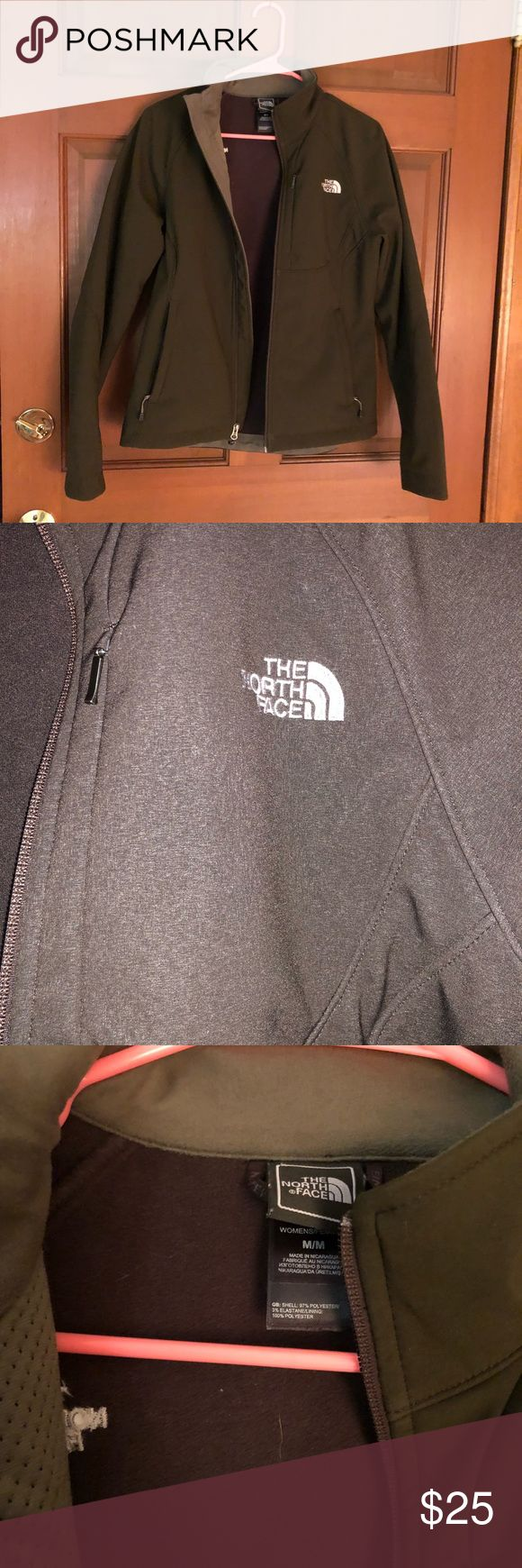 Women's North Face Jacket Gently used Women's North Face Jacket! Beautiful brown color.   Please feel free to make an offer or bundle for a discount!!! North Face Jackets & Coats